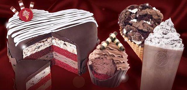 coldstone Valentines Day Cake