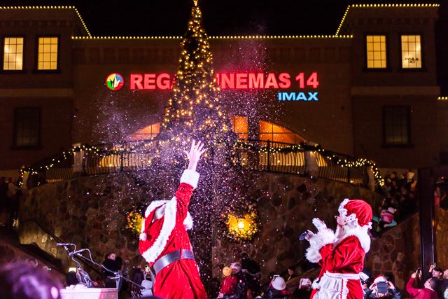 Christmas Tree Lighting.Christmas Tree Lighting El Dorado Hills Town Center