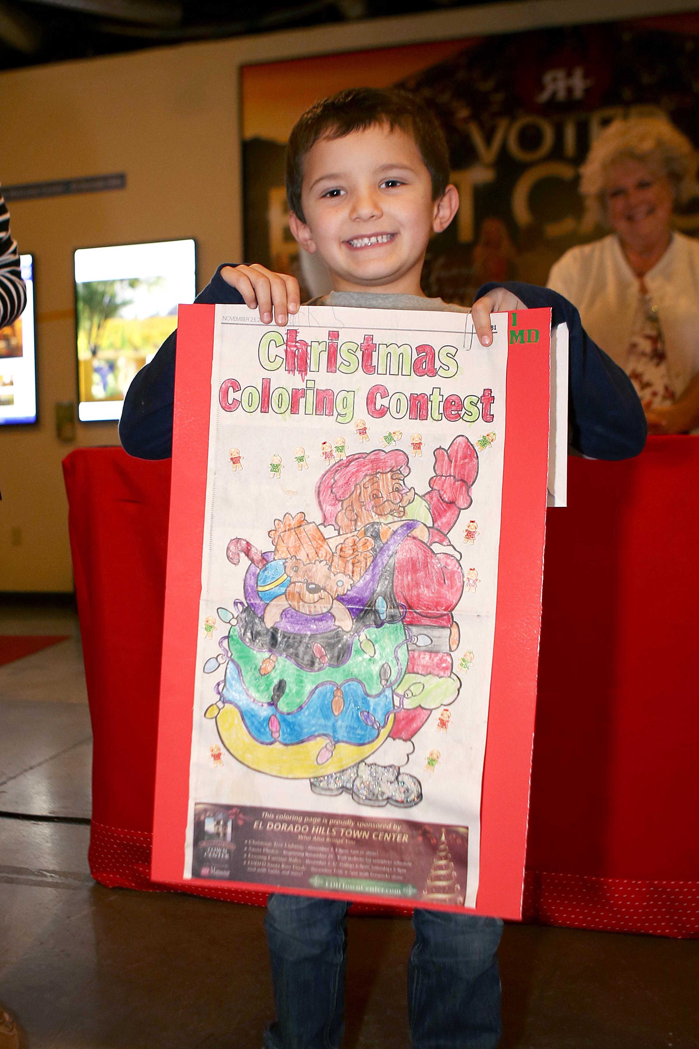 First place winner, Mark Dagenais, 5, of El Dorado Hills. Democrat photo by Shelly Thorene
