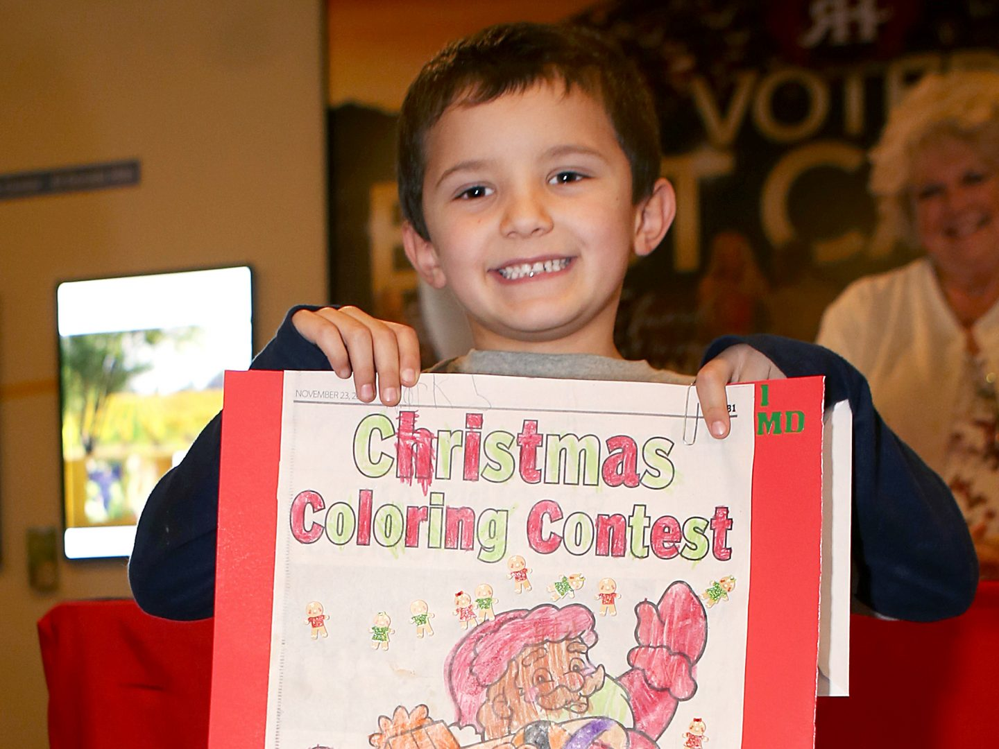Young artists show holiday spirit in creative ways