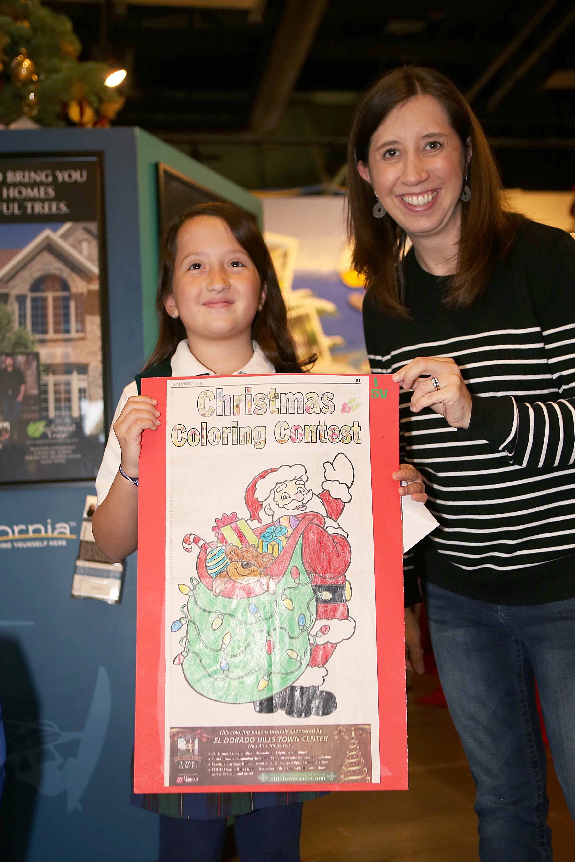 1st place winner, Sophia Voudouris, 9, of El Dorado Hills. Democrat photo by Shelly Thorene