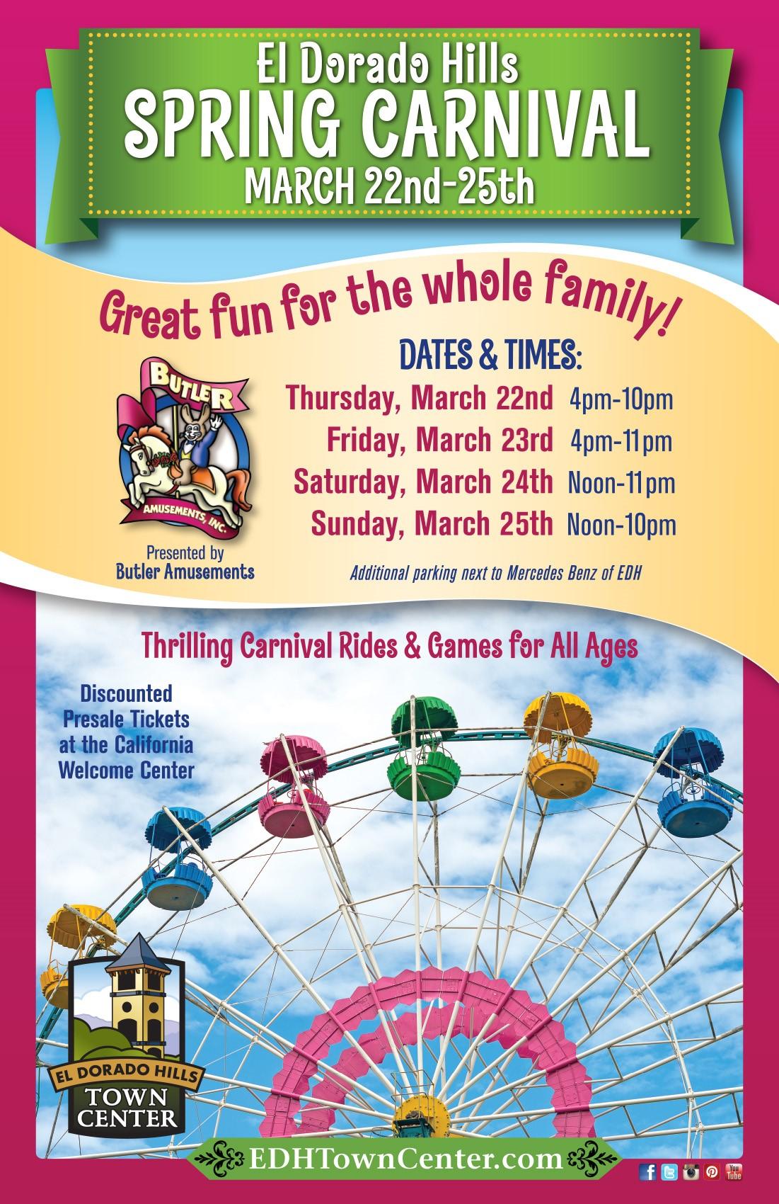 Spring Carnival Poster