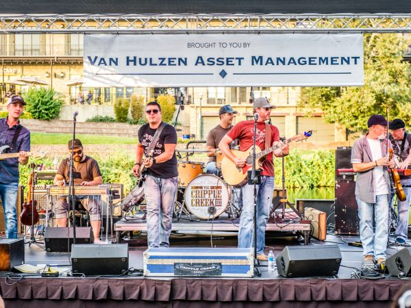 Live on the Boulevard – Cripple Creek Band 2018